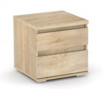 Noční stolek REA Amy 1 - dub bardolino