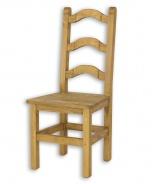 Jídelní židle z masivu SIL 01 selská - výběr moření