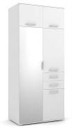 Šatní skříň REA Tampa 1 - bílá - výběr provedení