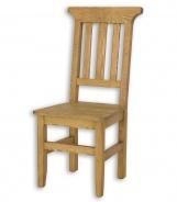 Židle jídelní dřevěná selská SIL 04 - výběr moření