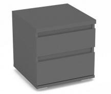 Noční stolek REA Amy 1 - graphite