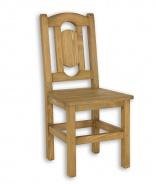 Rustikální židle SIL 07 selská - výběr moření