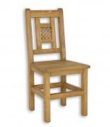 Židle z masivu rustikální SIL 08 - výběr moření