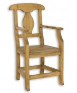 Židle s opěrkami SIL 11 selská - výběr moření