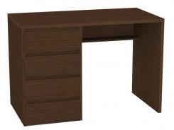 Psací stůl REA Play 2, levý - wenge