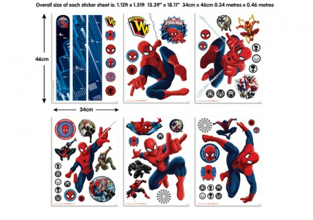 dětské samolepky spiderman