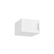 Nástavec na šatní skříň REA Catania 1 - bílá