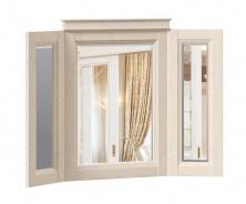 Zrcadlo v rámu Annie - dub provence bílá