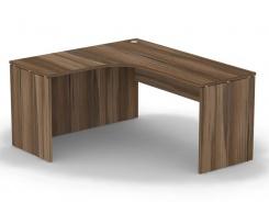 Rohový stůl REA Play - ořech rockpile