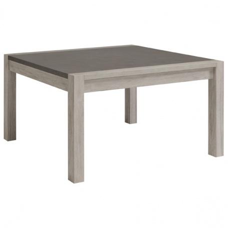 Jídelní stůl Lordo - čtverec - dub šedý