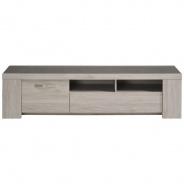 Televizní stolek Lordo II - dub šedý