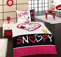Dětské povlečení Snoopy love 140x200cm - bavlna