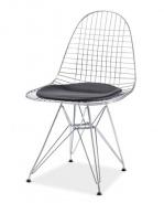 Jídelní židle INTEL I - chrom/černá