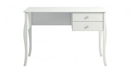 Psací stůl se šuplíky Edmont - bílý