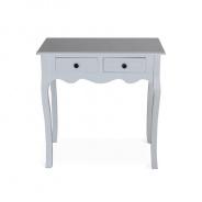 Toaletní stolek, bílá, WAGNER 2