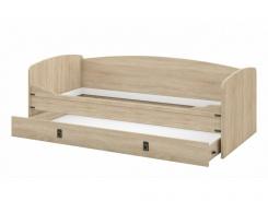 Dětská postel s úložným prostorem TORRO 90x200 - dub sonoma