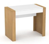 Psací stůl REA Jamie - bílý šuplík