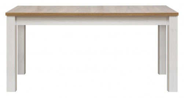 Jídelní stůl s rozkládáním DELUXE - modřín sibiřský/dub