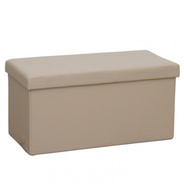 Skládací lavice, hnědá ekokůže, IMRA