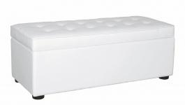Lavice - úložný prostor FRODO bílá