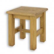 Dřevěná stolička/stolek SIL 21 - výběr moření