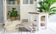 Dřevěná stolička/stolek SIL 21