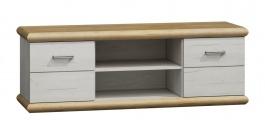 Televizní stolek KORA K11 divoký dub/bílá