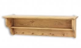 Dřevěná polička selská COS 11 - výběr moření