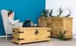 Dřevěná truhla selská COS 05 - výběr moření