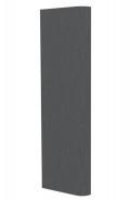 Ozdobná boční strana skříně Franchesca - wenge