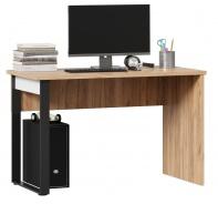 Psací stůl Trendy - dub zlatý/černá