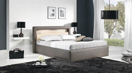 Čalouněná postel AVALON s osvětlením 180x200cm