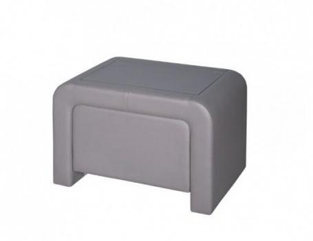Noční stolek čalouněný ST3 - ekokůže
