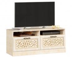 Televizní stolek se zásuvkami Sofia - béžová/lento