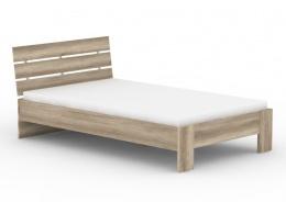 Studentská postel REA Nasťa 120x200cm - dub canyon
