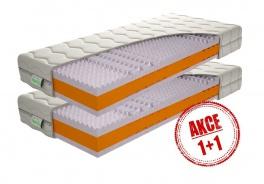 Pěnová matrace Kerin 1+1 Zdarma - 80x200cm