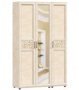Třídvéřová sestava skříní s kombinovanými dveřmi do předsíně Sofia - béžová/lento