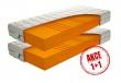 Partnerská matrace Caliopa 1+1 Zdarma - 90x200cm