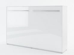Výklopná postel 120 CONCEPT PRO CP-05P bílá lesk/bílá mat