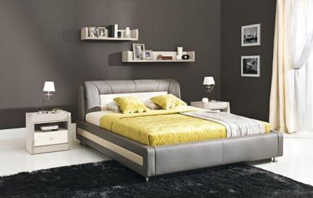Čalouněná postel AXEL 160x200cm