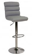 Barová židle KROKUS C-617 šedá