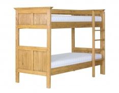 Patrová postel masiv ACC 07 - výběr moření