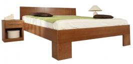 Masivní postel s úložným prostorem Varezza 6B (v.50cm) - 160/180 x 200cm - výběr odstínů
