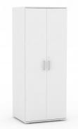 Šatní skříň REA Office - bílá - výběr dvířek