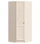 Rohová šatní skříň Annie (levá) - dub provence