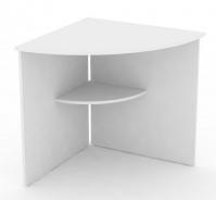 Rohový stůl REA Office 66 - bílá
