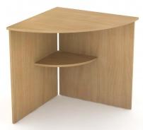 Rohový stůl REA Office 66 - buk