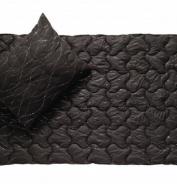 Přikrývka Metallic Black 140x200cm