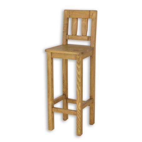 Barová židle z masivu SIL10
