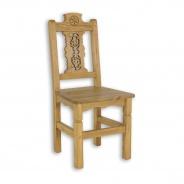 Selská židle z masivu SIL 24 - výběr moření